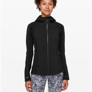Women's Lululemon Cross Chill Jacket Black size 6